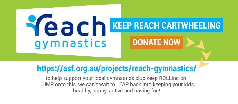 support reach gymnastics pakenham during covid-19