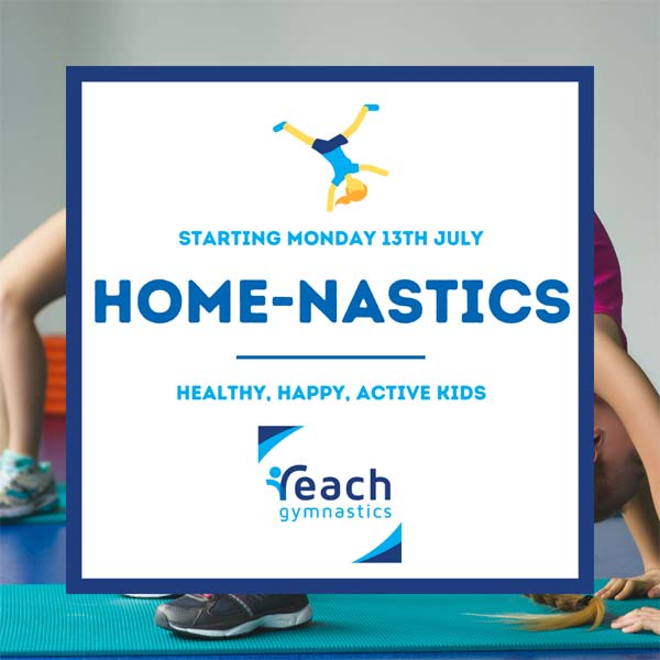 home-nastics with Reach Gymnastics Melbourne