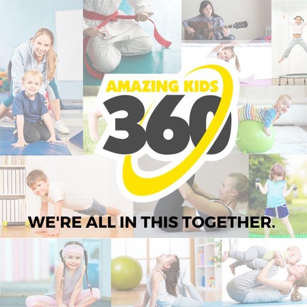 amazing kids 360 program in gymnastics, ninja and fitness at reach gymnastics pakenham