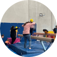 first kindergym circuit at reach gymnastics pakenham