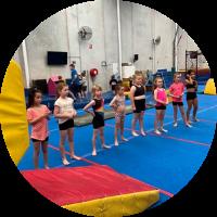 gymnastics class at reach gymnastics pakenham