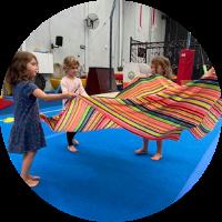 kindergym cooldown at at reach gymnastics pakenham