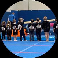 ninja zone class at reach gymnastics pakenham