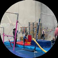 second kindergym circuit at reach gymnastics pakenham