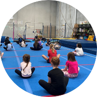 stretching at reach gymnastics pakenham