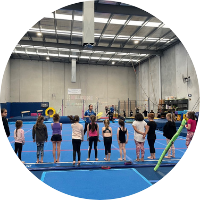 warm up at at reach gymnastics pakenham
